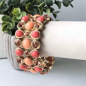 Peachy Moon Bracelet